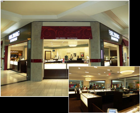HELZBERG DIAMONDS – THE PLAZA AT KING OF PRUSSIA – KING OF PRUSSIA, PA